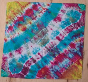 Brilliant Tie Dye Bandana