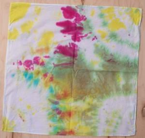 Painters Tie Dye Bandana