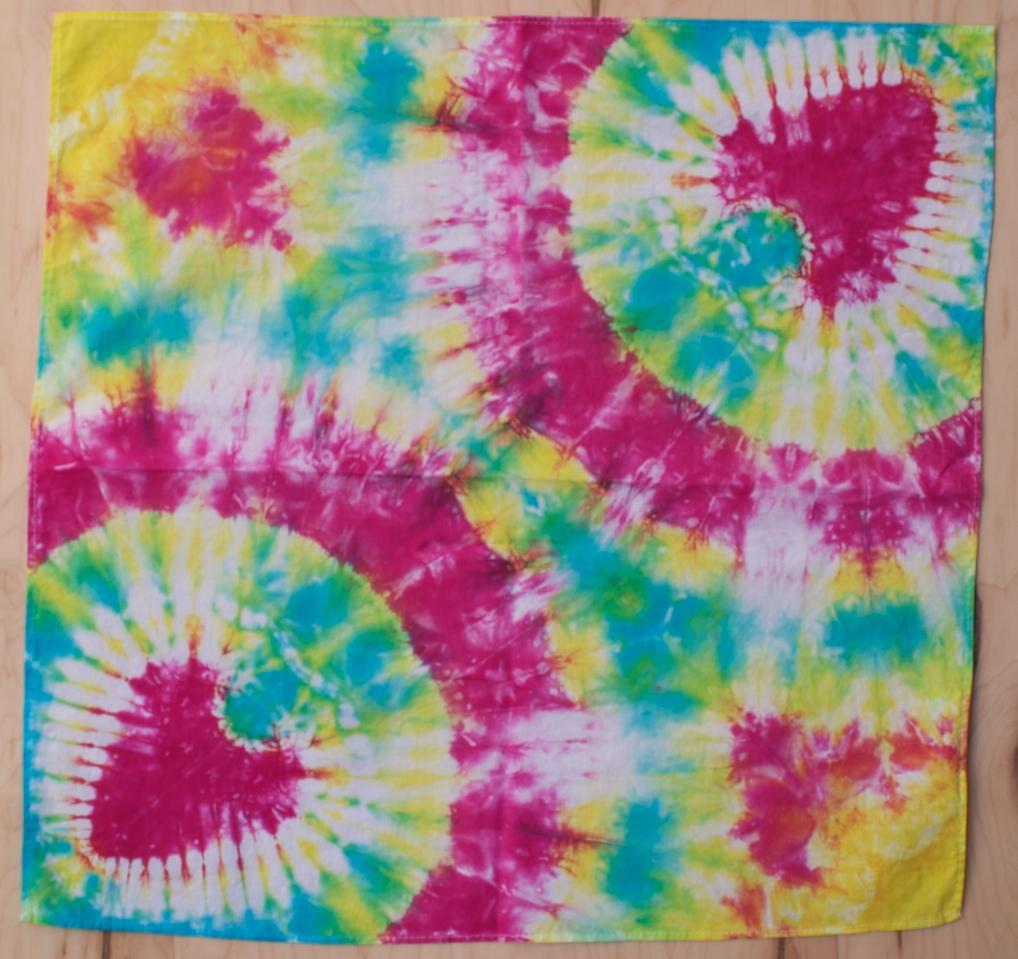 Heart Tie Dye Bandana Dog Clothing Company